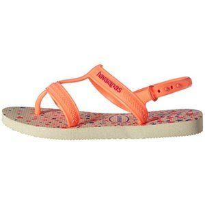 Havaianas Joy Spring sandals Big Girls 3/4Y NEW